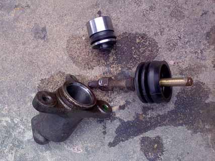 Замена тормозного цилиндра w210