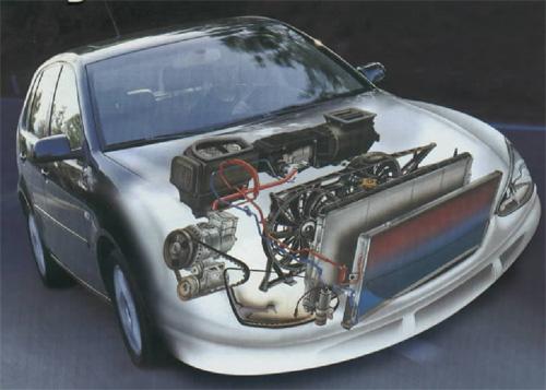 схема расположения в авто