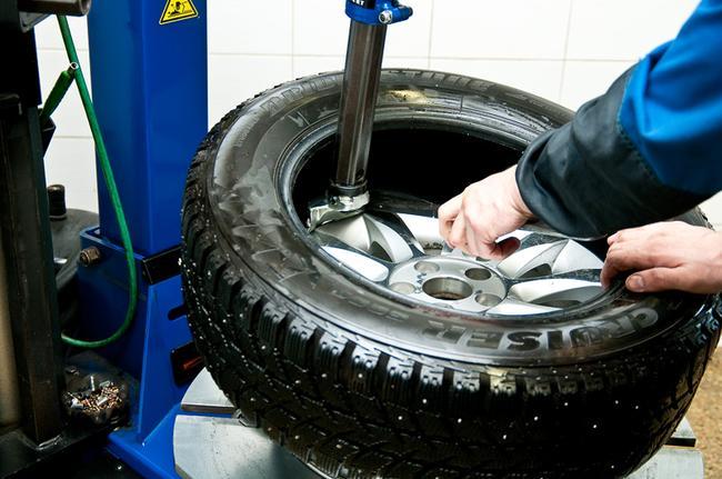 перебортировка шины