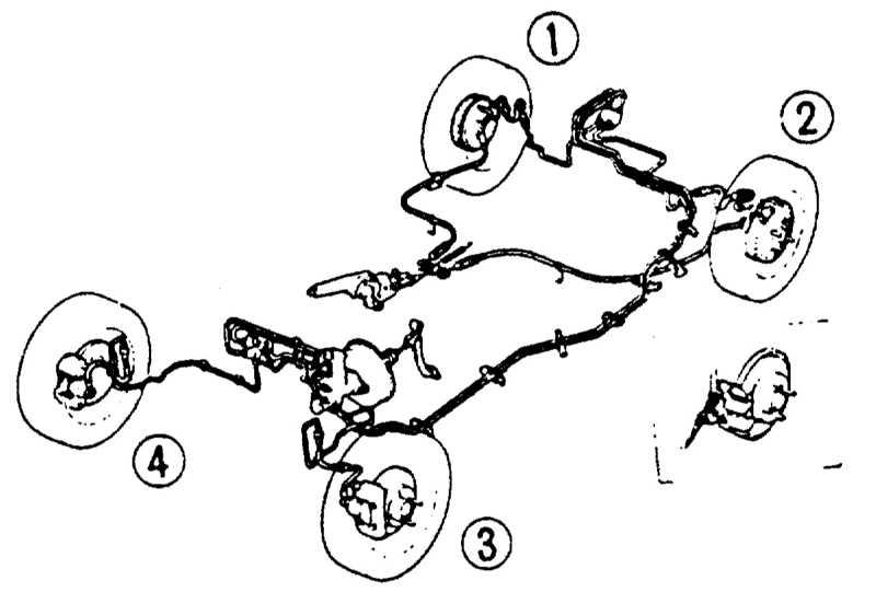 Прокачка системы тормозов