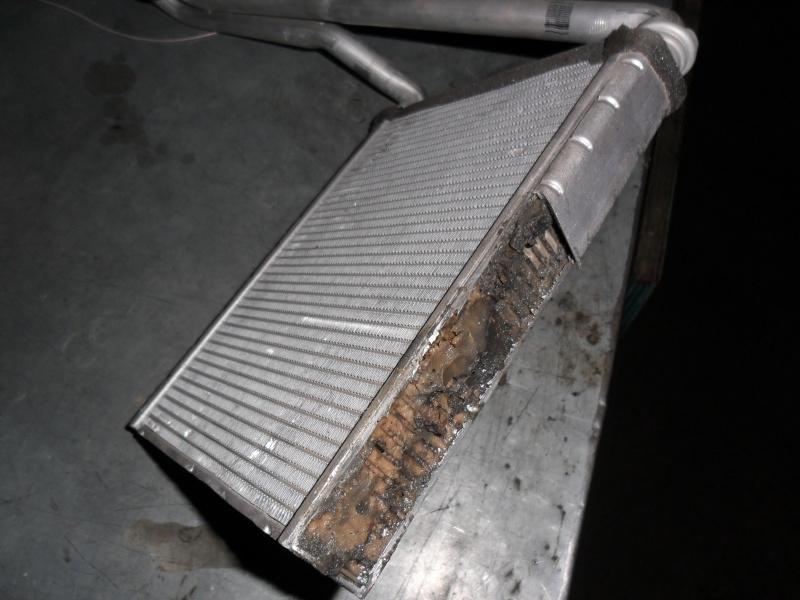 радиатор после герметика