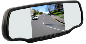 car dvr mirror